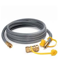 GASPRO 12FT Natural <b>Gas</b> Hose with Quick Connect Fittings, <b>3</b>/8 ...
