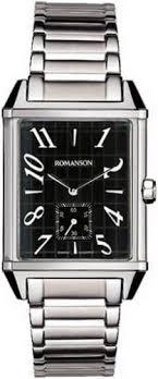 Мужские <b>часы Romanson</b> Adel <b>TM7237MW</b>(<b>BK</b>)