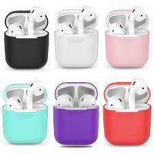 TPU Silicone Bluetooth Wireless <b>Earphone Case For AirPods</b> ...