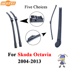 <b>QEEPEI Front And Rear</b> Wiper Arm Blades For Skoda Octavia 2004 ...