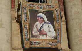 See Mother Teresa's Canonization Image Already Hanging in St ...