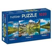 Набор <b>пазлов Hatber Premium Triptych</b> В тишине гор ...