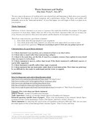 thesis paper example outline     google plus instagram twitter facebook  Resume Examples Examples Of A Good Thesis Statement For A Research Resume Template Essay Sample