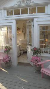 pretty front entrance pink home country house style decorate french shabby chic door front entrance beautiful shabby chic style