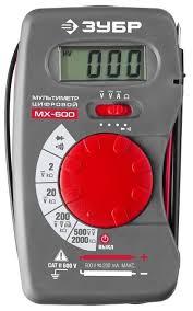 <b>Мультиметр ЗУБР МХ</b>-<b>600</b> (59800) — купить по выгодной цене на ...