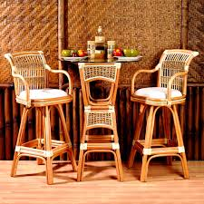 wicker bar height dining table: spice islands  piece wicker bar height bistro set bar amp pub tables at hayneedle