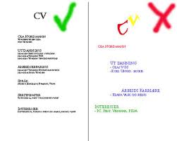 how to make a good curriculum vitae