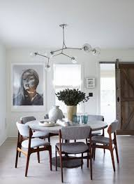 lighting living room complete guide: modern dining room chairs and rounded table design