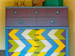 update a dresser with a chevron design 7 steps bedroom furniture diy
