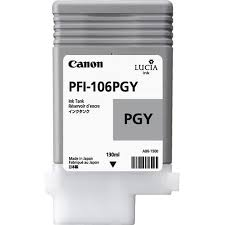<b>Canon PFI</b>-<b>106PGY</b> Ink Cartridge - <b>Photo Gray</b> | Walmart Canada