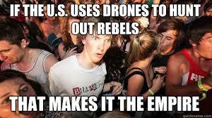 The Empire Strikes Back | The Dark Knight of War : Drones via Relatably.com