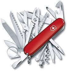 <b>Victorinox</b> Swiss Champ Red <b>Swiss Army</b> Knife (1.6795): Amazon.in ...
