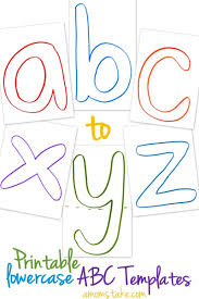 lowercase abc templates printable a mom s take lowercase abc templates printable