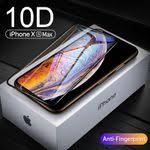 6D Curved Edge Protective Glass for Iphone Xs Max Xr X0 ... - Vova