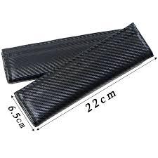 <b>2pcs Car Styling</b> Carbon fiber Seat Belt Cover Pad fit For lada ...
