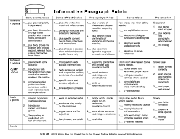 Rubric for an essay question   kidakitap com