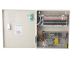 18 Channel DC12V 20 Amp Reset Fuse CCTV DC ... - Amazon.com
