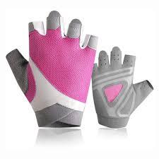 Yaayan Pink Womens Workout Gloves Lightweight <b>Breathable Anti</b> ...