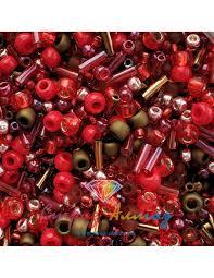 Микс <b>TOHO</b>: Samurai- Red/Brown Mix (<b>3218</b>) 5 гр.