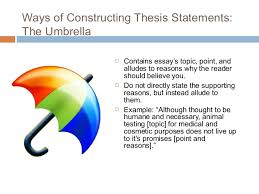 essay writing  thesis statement    thesis