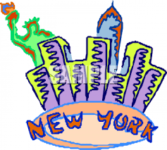 Image result for free clip art new york skyline