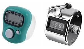 Buy 90 Degree <b>2 pcs</b> Hand Counter and <b>Digital Finger</b> Counter ...