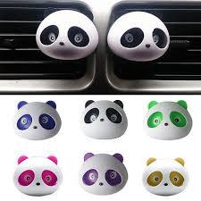 2pcs <b>car</b>-<b>styling</b> Panda <b>Car</b> Perfumes 100 original 5ml Solid <b>Air</b> ...