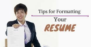 best  tips for resume formatting  size  font and format   wisestepresume formatting