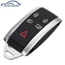 <b>5 Buttons Car Remote</b> Smart Keyless Fob Case Shell w/ Uncut Key ...