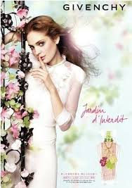 advert-<b>givenchy</b>-<b>jardin</b>-<b>d-interdit</b> | Perfume adverts, Givenchy, Parfume