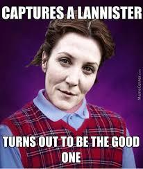 Bad Luck Catelyn Stark by switzerland - Meme Center via Relatably.com