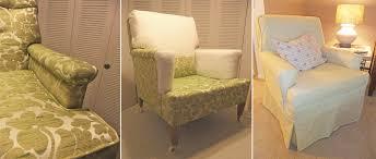 Roz Yellow Slipcover Prep  I