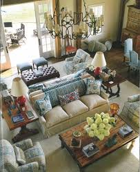 bring back intimacy in a large room with back to back sofas big living room furniture