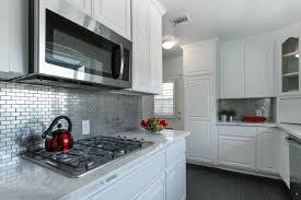 kitchen backsplash stainless steel tiles: stainless steel quot x quot kitchen backsplash