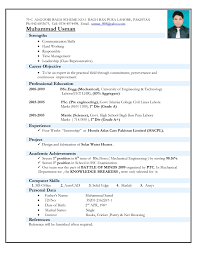 resume templates standard format samples for  79 glamorous resume format templates