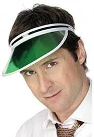 Sports Headwear Tennis Cap Headband Green <b>Eye Shade</b> ...