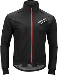 ROCKBROS <b>Winter Cycling</b> Jacket <b>Warm</b> Men's Windproof Thermal ...