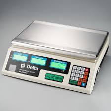 Напольные <b>весы Delta ТВН-40</b>, торговые, белый — купить в ...