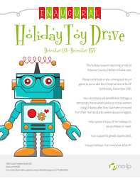 no ip launches toy drive to help foster children no ip inaugural toy drive