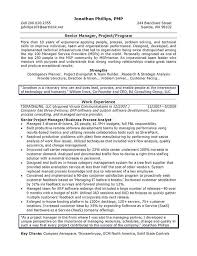 sample resume for project manager position sample project manager resume  summary job samples sample resume for resumer example