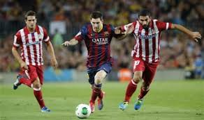 pertandingan Barcelona vs Atletico Madrid Piala Super Spanyol
