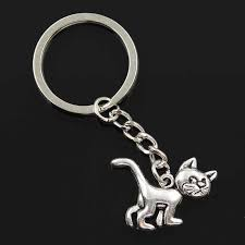 new fashion men 30mm keychain DIY metal holder chain <b>vintage</b> ...