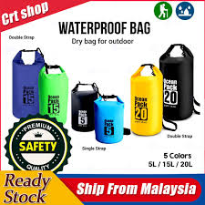 CRT 2L/5L/10L/<b>15L</b>/20L <b>Outdoor</b> Ocean Pack <b>Waterproof Dry</b> Bag ...