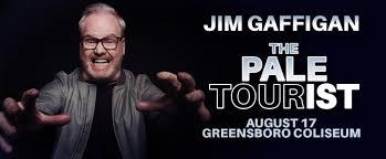 <b>Jim Gaffigan</b>: The Pale Tourist <b>World Tour</b> - Greensboro Convention ...