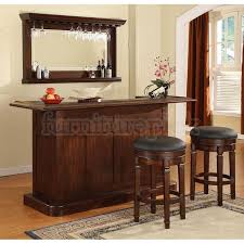 nova bar set distressed walnut bar furniture sets home