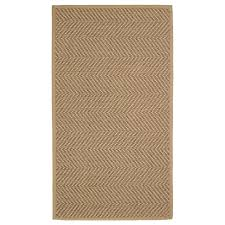 HELLESTED natural, brown, <b>Rug</b>, flatwoven, <b>80x150 cm</b> - IKEA