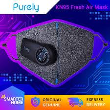 Xiaomi <b>Purely</b> Reusable Electric Fresh <b>Air</b> Face Mask, Genuine ...