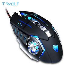 <b>T WOLF Q13</b> Rechargeable Wireless <b>Mouse</b> Silent Ergonomic ...