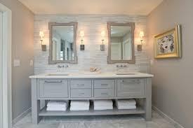 Bathroom White Vanities Bathroom White And Gray Master Bathrooms Modern Double Sink