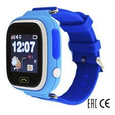 Детские умные <b>часы</b> Smart <b>Baby Watch</b> Q80, голубые + ...